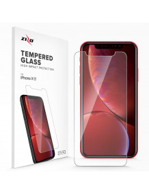 FOR IPHONE 11 / IPHONE XR - LIGHTNING SHIELD - 0.33MM TEMPERED GLASS SCREEN PROTECTOR-CLEAR